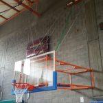 מתקן סל קבוע לאולם ספורט