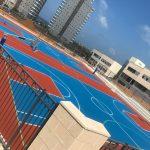 חידוש מגרשי ספורט - כדורסל